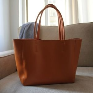 NWOT Genuine Leather Tote Bag